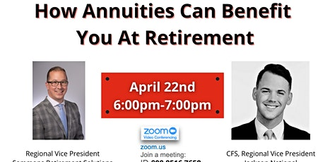 How Annuities Can Benefit You At Retirement tickets