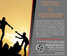 Virtue and Friendship tickets