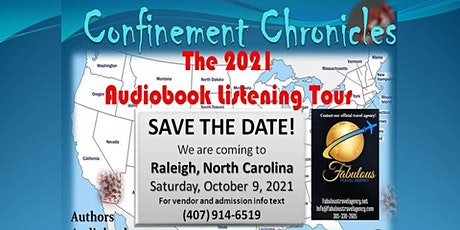 Confinement Chronicles - The  Audiobook Listening Tour - Raleigh, NC-Oct 9 tickets
