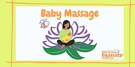 Baby Massage - 4 week course (BM140) tickets