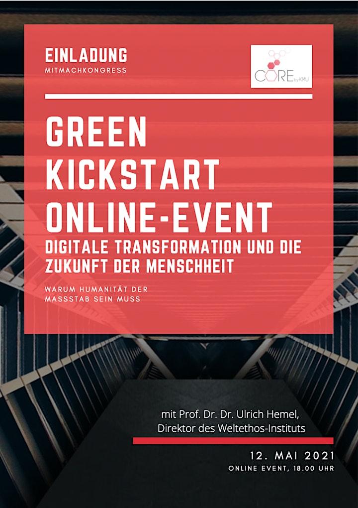 Green Kickstart online Event - Warum Humanität der Maßstab sein muss: Bild
