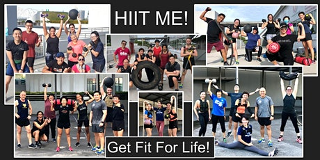 HIIT Me! Body & Strength Conditioning with Weights! Get Fit For Life! tickets