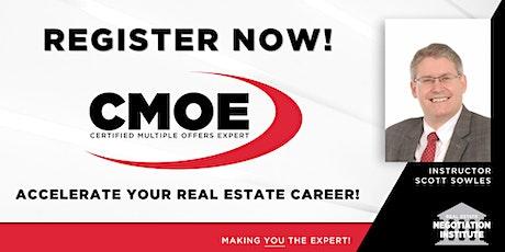 Certified Multiple Offers Expert (CMOE) - Zoom Class (Scott Sowles) tickets