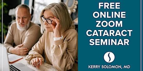 Dr. Solomon's Free Cataract Seminar tickets