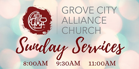 GCAC Sunday  Services - April 18th tickets