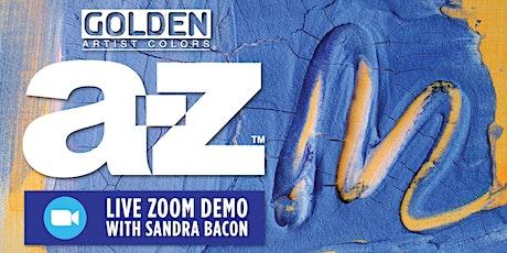 Free Golden A-Z Acrylic Zoom Demo - Kansas City tickets