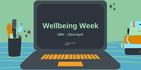 Community Links Wellbeing Week: Peer support, what is it? tickets