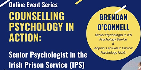 Counselling Psychology in Action: Brendan O'Connell tickets