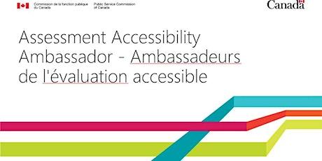 AAAmbassador workshop-atelier des ambassadeurs EA billets