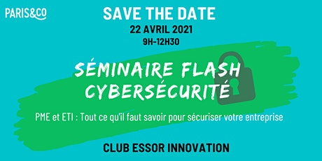Séminaire Flash Cybersécurité billets