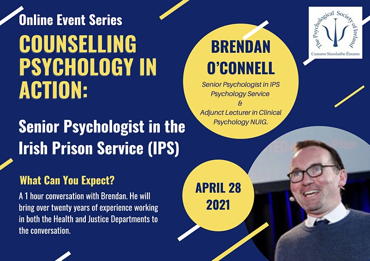 Counselling Psychology in Action: Brendan O'Connell image