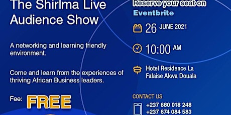 THE SHIRLMA LIVE AUDIENCE SHOW JUNE 2021 billets