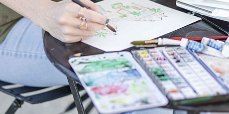 Artist Workshop:: Watercolor Painting with Kelly Gallagher tickets