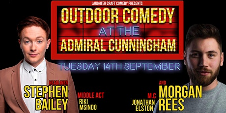 Outdoor Comedy at the AC September tickets