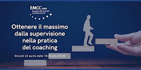 Ottenere il massimo dalla supervisione nella pratica del coaching biglietti