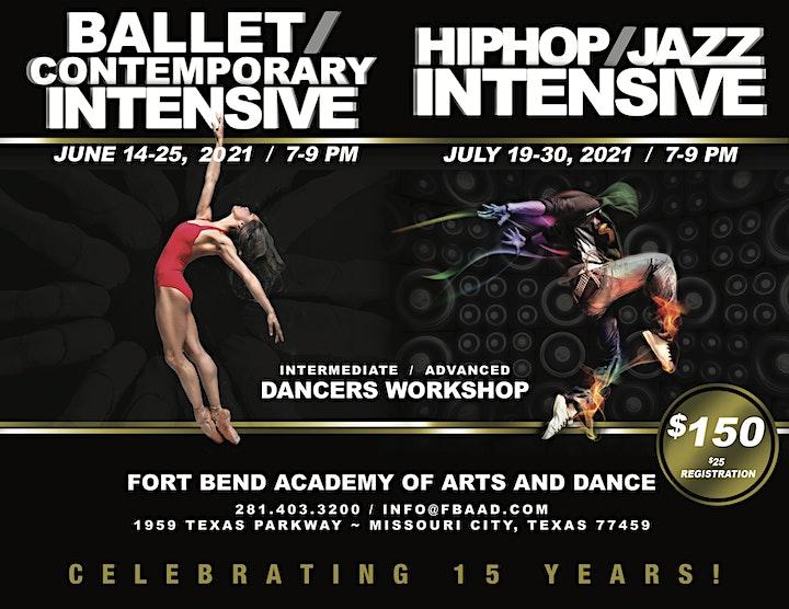 FBAAD Summer Dance Intensive- Teens/Adults image