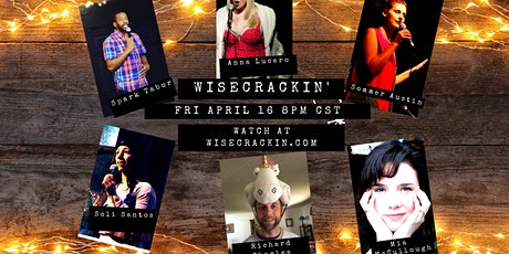 Wisecrackin'- Interactive Comedy Game Show (FREE) tickets