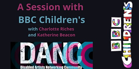 A two part session with BBC Children's tickets