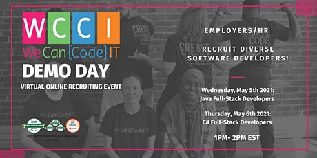 We Can Code IT Virtual Demo Day(s) tickets