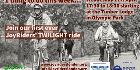 Twilight Women's led bike Ride starting from Timber Lodge in Olympic Park tickets