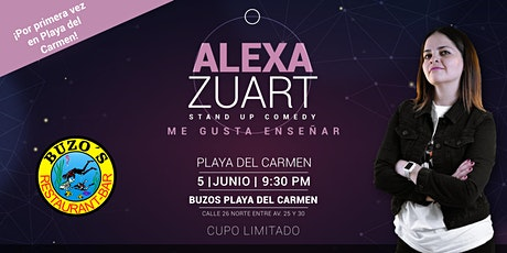 Alexa Zuart | Stand Up Comedy | Playa del Carmen tickets