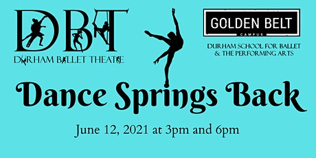 Durham Ballet Theatre presents Dance Springs Back tickets