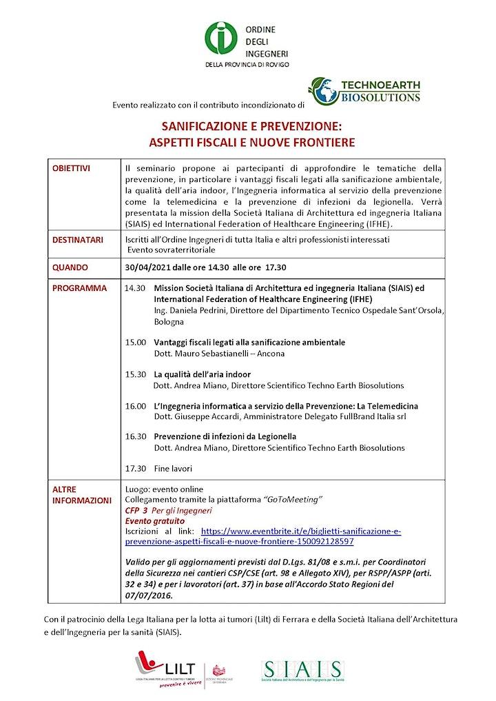 Immagine Prodotti e metodi di sanificazione ambientale e sistemi di trattamento aria