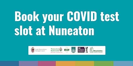 Nuneaton COVID Community Testing Site – 19th April tickets