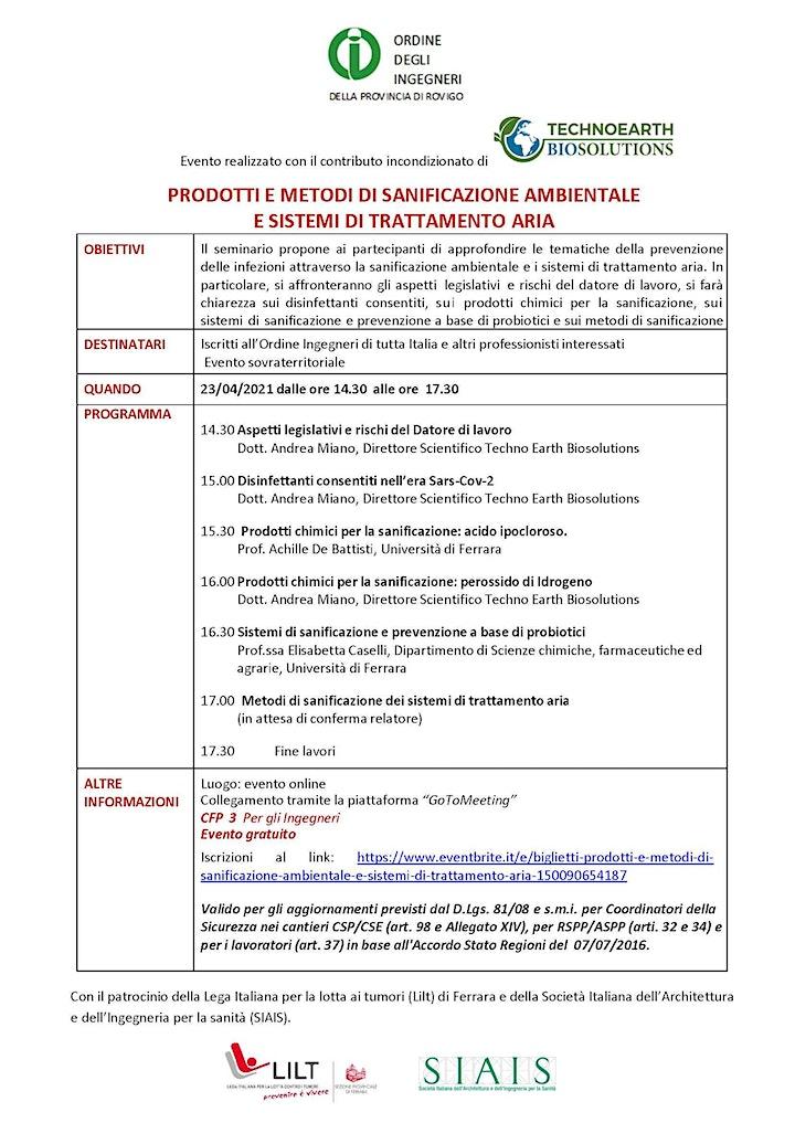 Immagine Sanificazione e prevenzione: aspetti fiscali e nuove frontiere