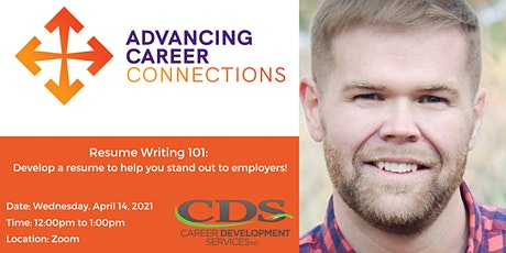Resume Writing 101: Develop a resume that helps you stand out tickets