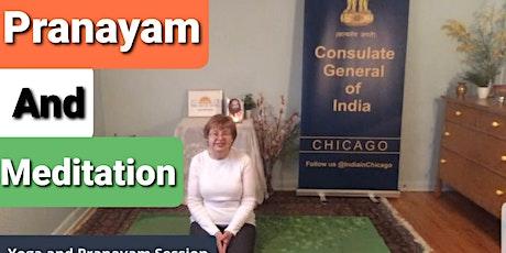 Thursday Morning Pranayam and Meditation with Pam Brockman Tickets
