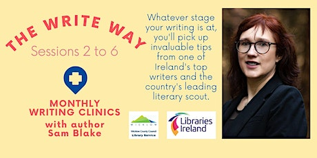 The Write Way writing clinic with Sam Blake tickets