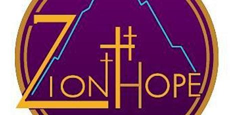 Zion Hope  Sunday Service tickets