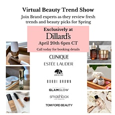 Virtual Beauty Trend Event tickets