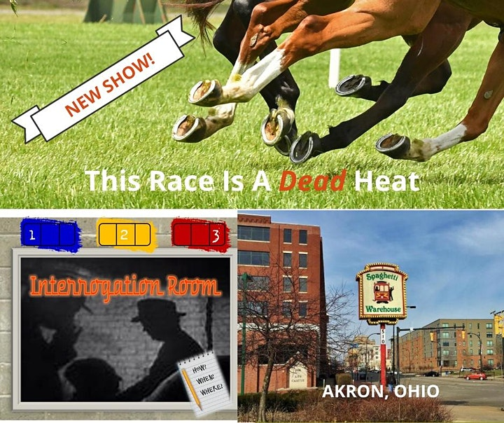 INTERROGATION ROOM GAME SHOW - THIS RACE IS A DEAD HEAT image