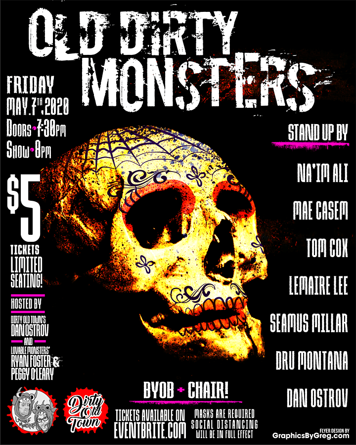 Old Dirty Monsters VI; Backyard Comedy Show image