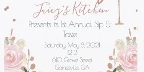 Juicy's Kitchen Sip & Taste tickets