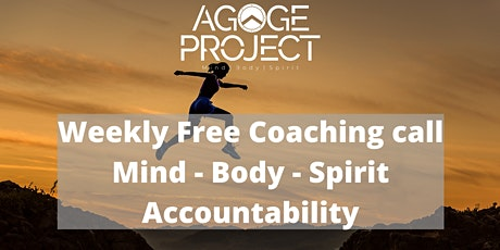Weekly Free Mindset Coaching and Accountability tickets