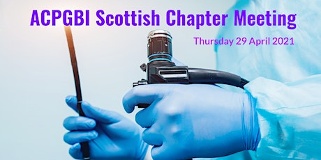 Scottish Chapter Meeting tickets