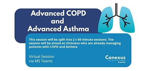 Advanced COPD & Advanced Asthma tickets
