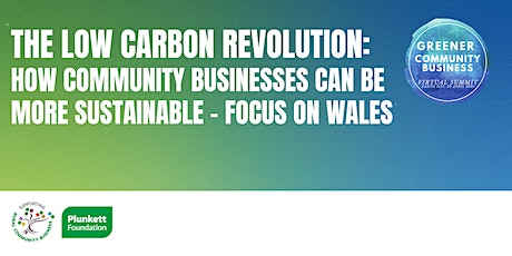 The low-carbon revolution: How community businesses can be more sustainable tickets