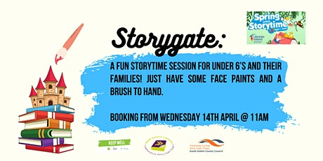 Storygate - A story session with hand painting tickets