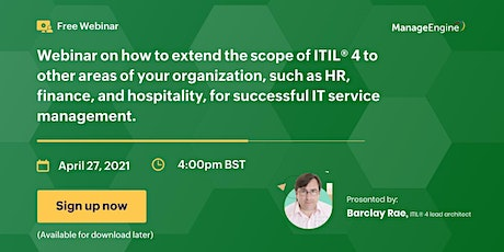 [Free webinar] ITIL® 4 and the digital enterprise: Working beyond IT tickets