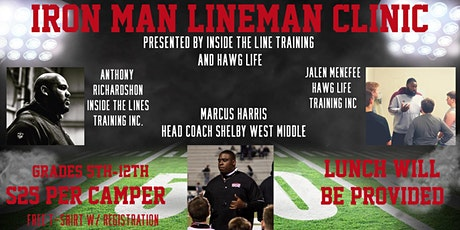 Iron Man Lineman Clinic tickets