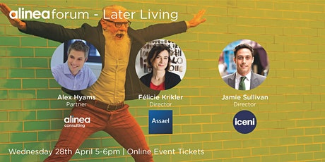 alinea Forum - Later Living tickets