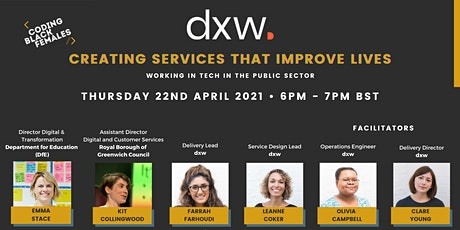 Creating Services That Improve Lives: Tech in the Public Sector with dxw tickets