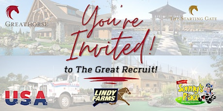 The Great Recruit tickets