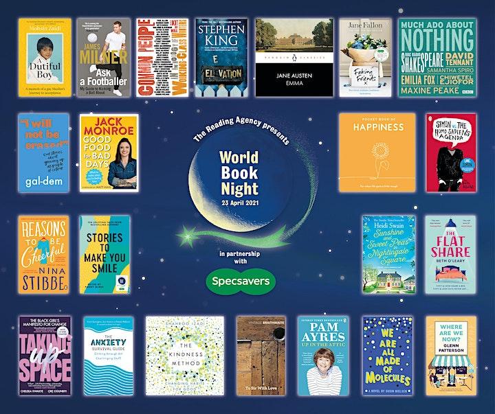 World Book Night Reading Hour image