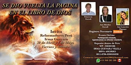 Se Dio Vuelta La Pagina En El Libro De Dios entradas