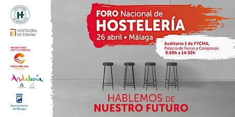 Foro Nacional de Hostelería entradas